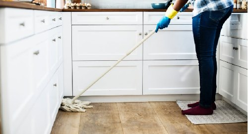 Floor Scrubbing Services For Grimy Floors