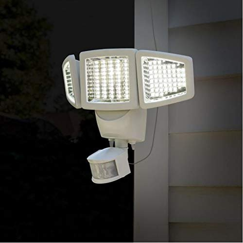 Triple Head Solar Motion  Detection Light
