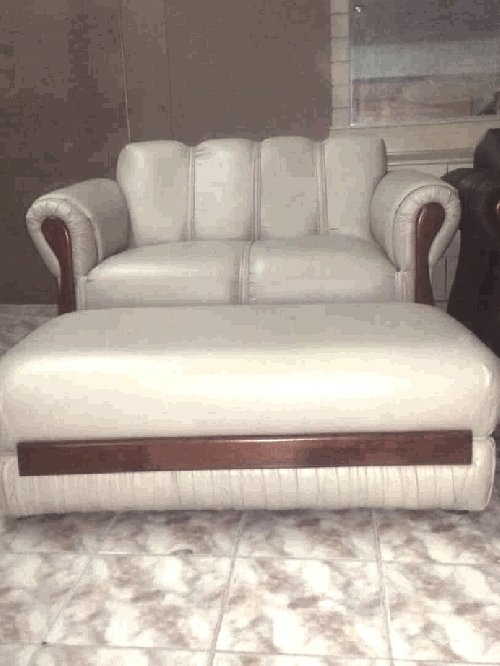 Beautiful Sofa And Ottoman For Sale