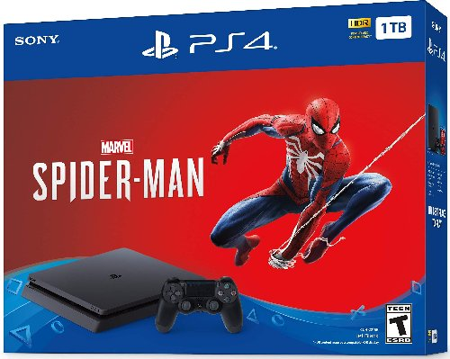 BRAN NEW IN BOX PS4 SLIM SPIDER MAN BUNDLE