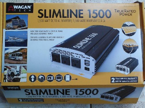 1500W SLIMLINE AC TO DC INVERTER