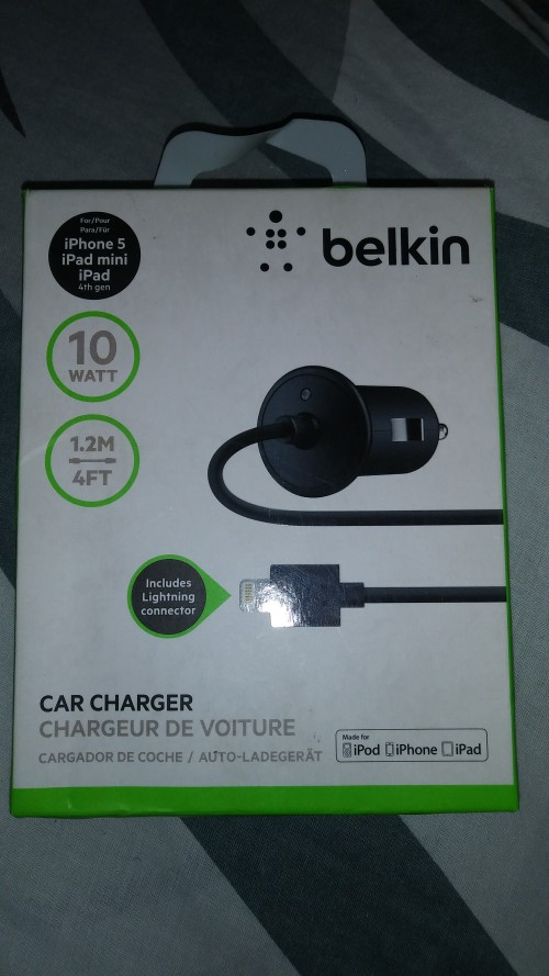 IPHONE CAR FAST CHARGER