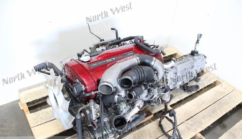 JDM NISSAN SKYLINE GTR R34 RB26DETT TURBO ENGINE