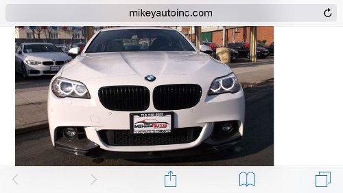 2014 5 Series BMW