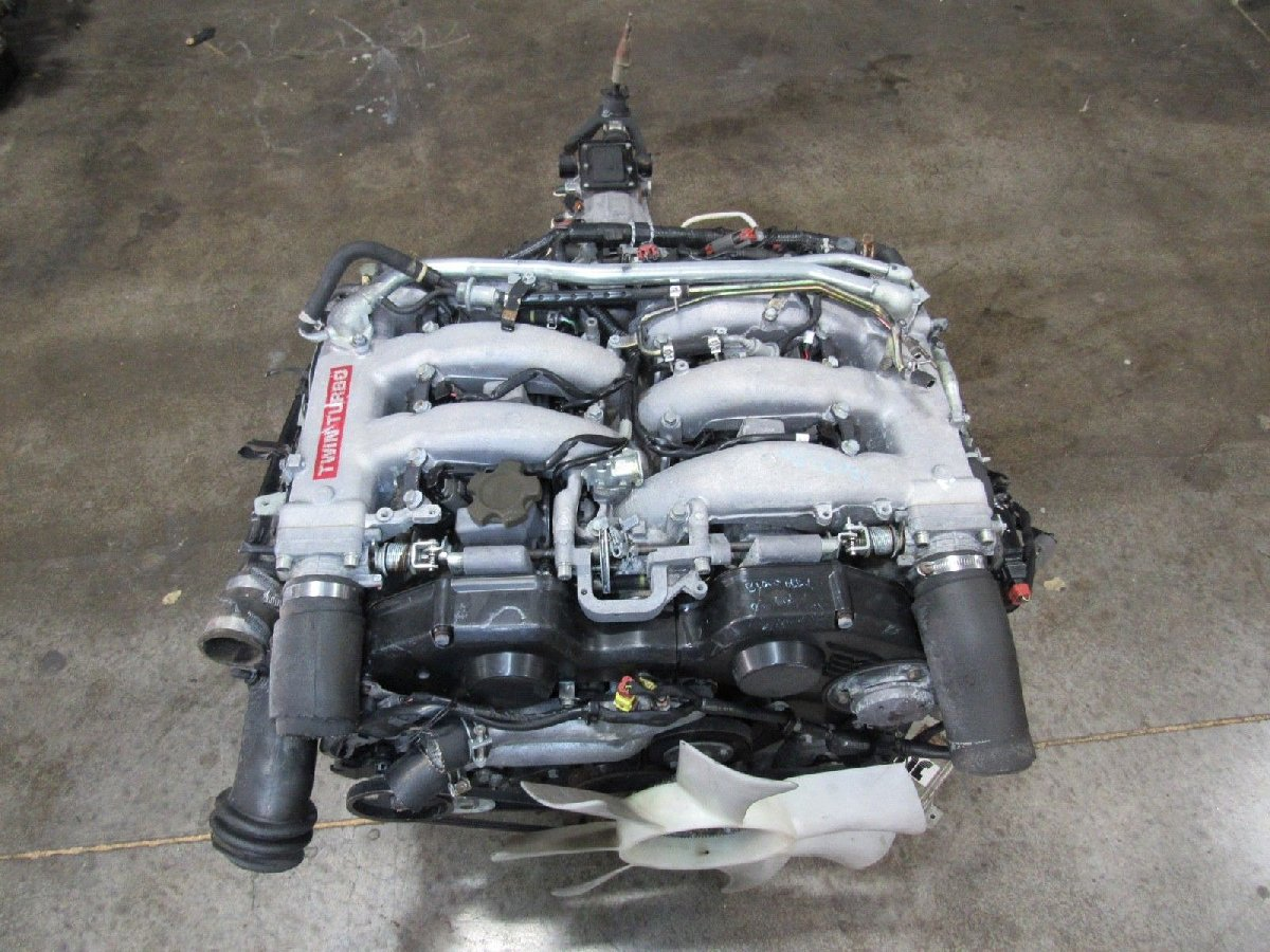 Nissan VG30 Engine And 5 Speed Transmission Twin for sale in 47 Main