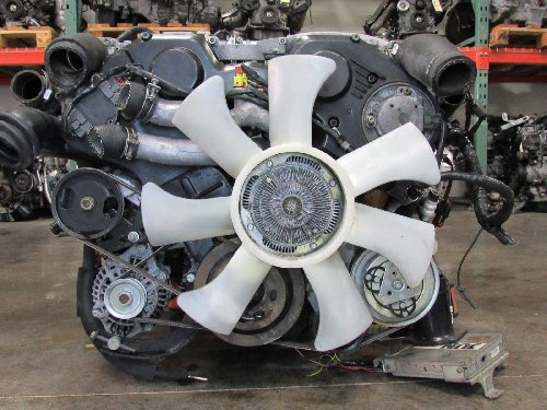 Nissan VG30 Engine And 5 Speed Transmission Twin