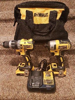 Dewalt Hammer Drill And Drive 20v Kit