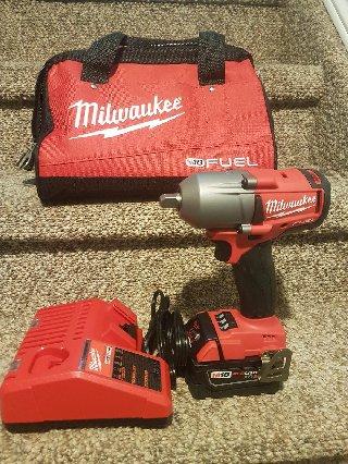 "1/2"" Milwaukee Wrench  High Torque Kit"