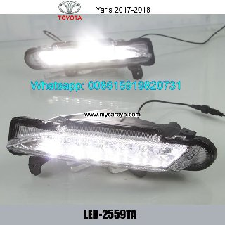 Toyota Yaris LED Cree DRL Day Time Running Lights