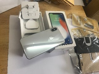 New IPhone X 256GB With 12 Months Warranty And Bil