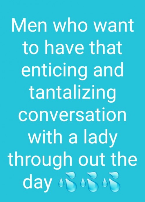 Enticing your text life with a female