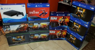 ALL GAMING SYSTEM NOW AVAILABLE PS4, PS4 PRO, XBOX Consoles Cross Roads Kgr Mobile