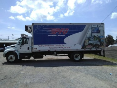 2006 International Freezer Truck