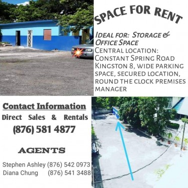 Storage And Office Spaces