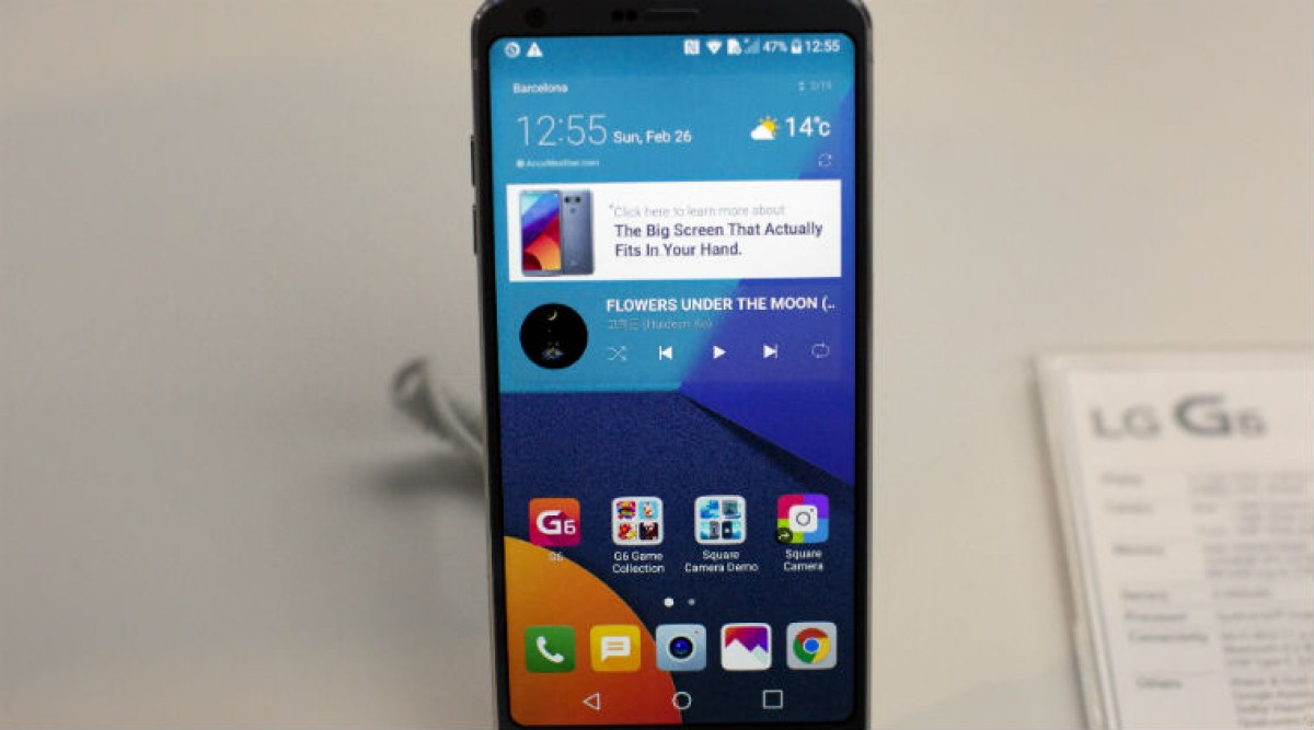 Unlocked LG G6 black (serious enquiries) for sale in Kinstong