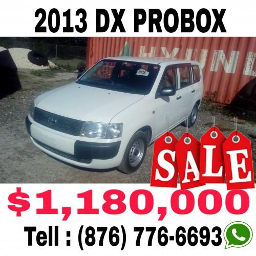 2013 TOYOTA DX PROBOX