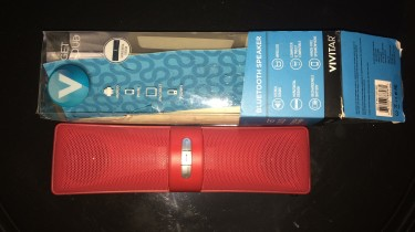 Bluetooth Speaker And Headphones