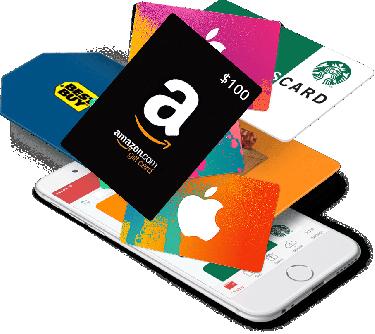 Sephora, Amazon, Steam Wallet, Soccer Gift Cards,