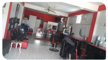Fully Furnish Beautiful Salon For Rent