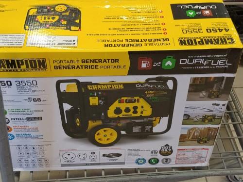 Brand New Champion 4450 Watt Dual Fuel Generator
