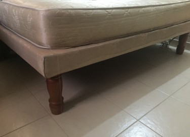 Full Bed Base And Mattress (Used)