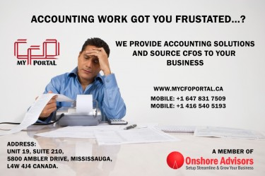 WE PROVIDE ACCOUNTING SOLUTIONS AND SOURCE CFOs TO