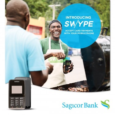 SWYPE (MOBILE CARD MACHINE BY SAGICOR BANK)