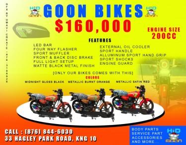 GOON MOTOR CYCLES