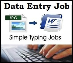 Data Entry Person Needed