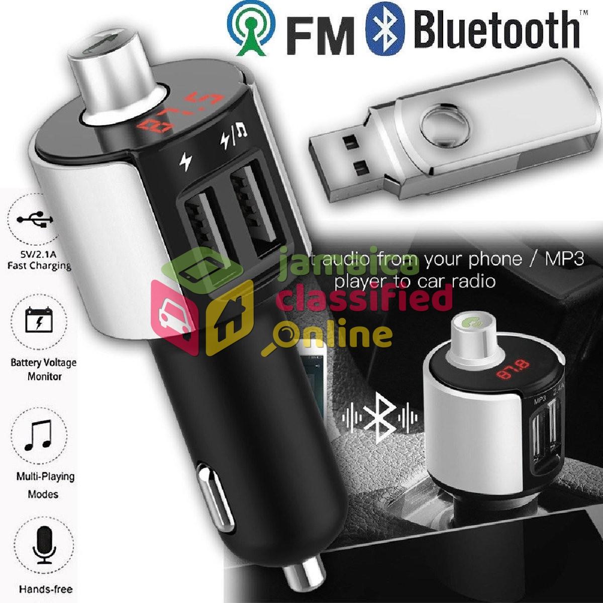 Bluetooth Car FM Transmitter Wireless Radio Adapte for sale