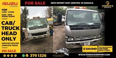 ISUZU NQR CAB/TRUCK HEAD ONLY