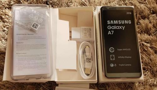 SAMSUNG GALAXY A7 64GB BLACK  2018