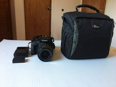 Canon EOS Rebel SL-1 Digital SLR With 18-55mm STM