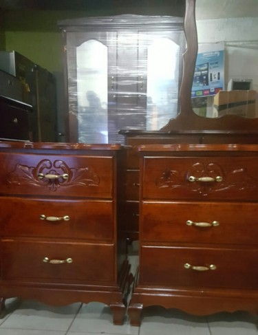 Queen Size Night Tables And Dresser For Sale
