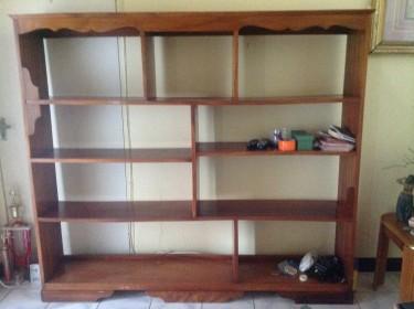 Large BookShelf (Solid Wood)