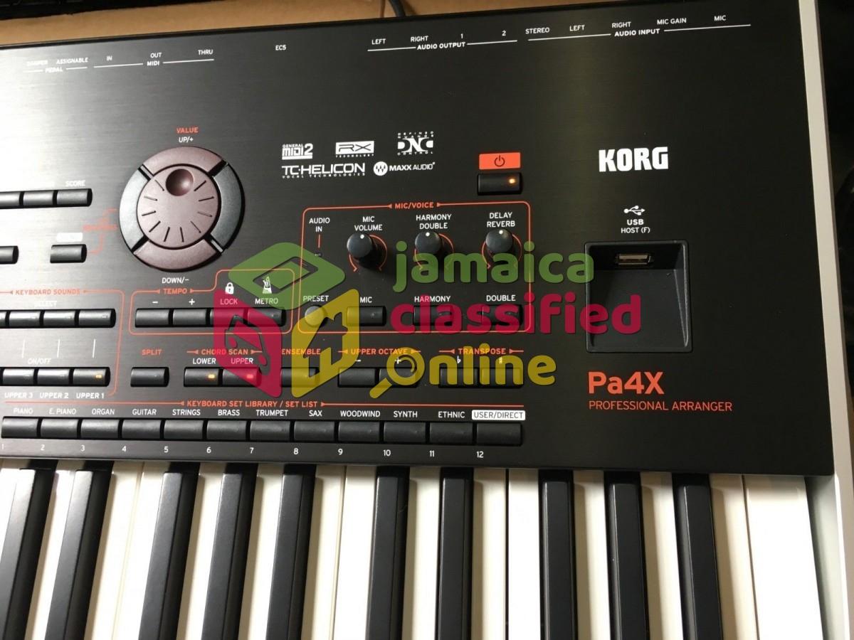 Korg PA-4X 76 Key Oriental Arranger Keyboard PA4X for sale in