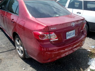 2012 Toyota Corolla XLi $1.6 Million Negotiable!