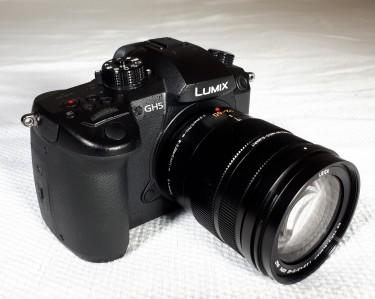 Panasonic LUMIX GH5 4K Mirrorless Camera (NEG)