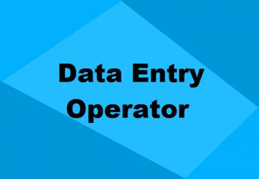 Data Entry Clerk / Filing Clerk/ Cashier