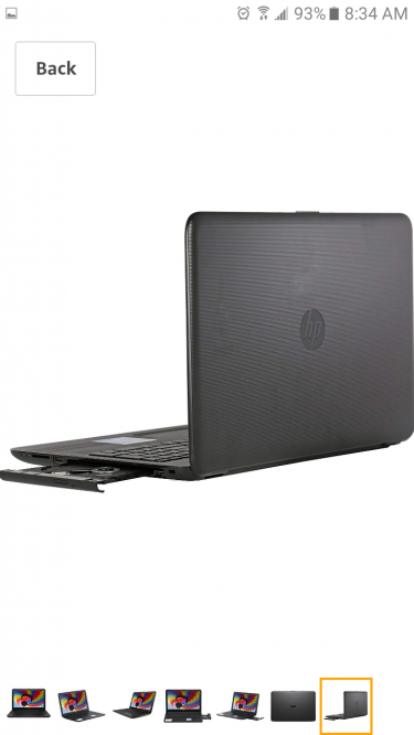 HP Laptop With DVD Player