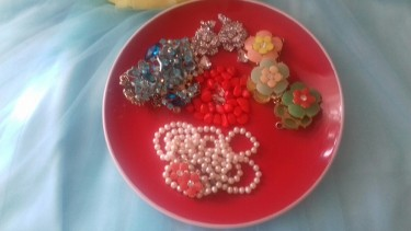Beautiful Jewelry Plate For Sale