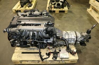 JDM Toyota 1JZGTE Rear Sump 2.5L Turbo Engine M/T