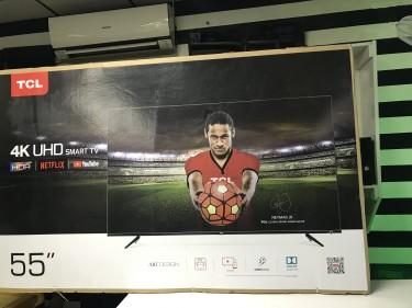 "TCL 55"" 4K UHD SMART TV"