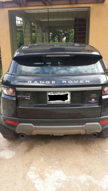 Range Rover Evoque, 2013