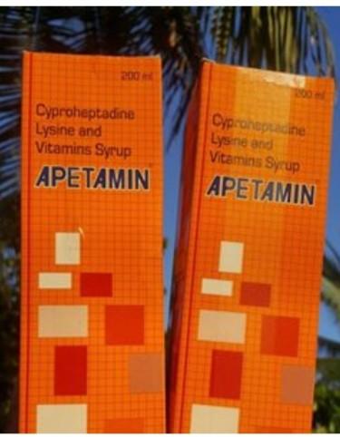 Apetamin (weight Gaining Syrup)