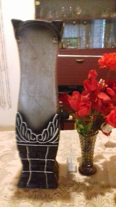 Beautiful Earthenware Vase For Sale