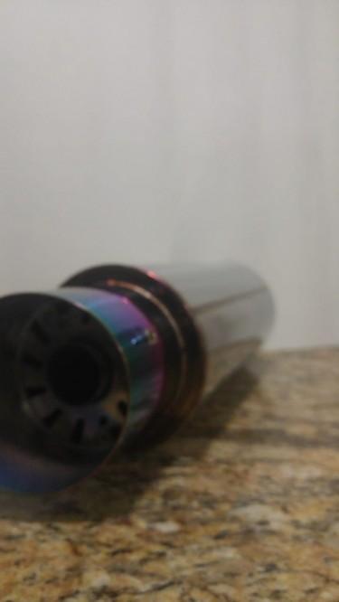 Chrome Slant TIP Muffler (silencer)