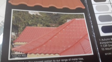 Beautiful Metal Roofing. Tiles For Sale