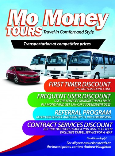 Mo-Money Tours (charters & Excursions )