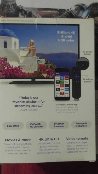 Roku Premiere +  Streaming Stick